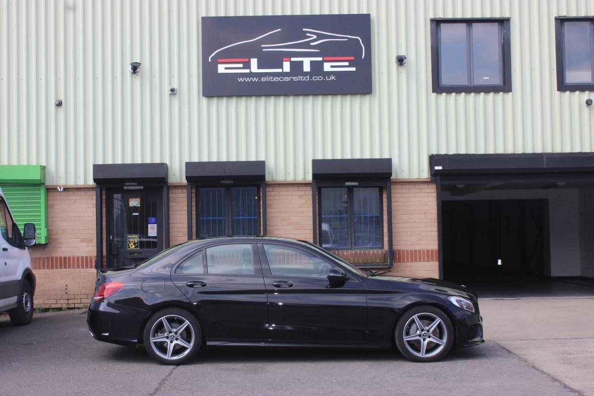 Mercedes C Class Black | Elite Cars Hire | Derby